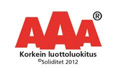 Jopracon Oy AAA luottoluokitus 2012